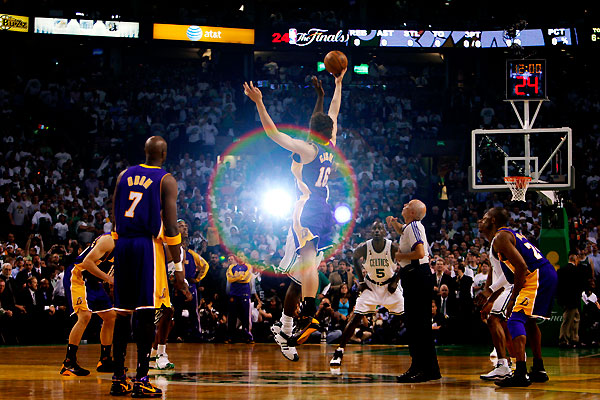 nba finals celtics vs lakers - boston celtics won the first game
