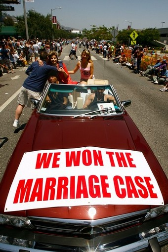 californian gays - we won the marriage case