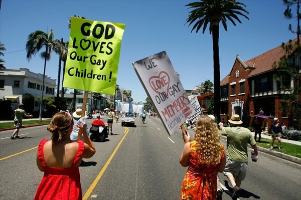 god loves our gay children