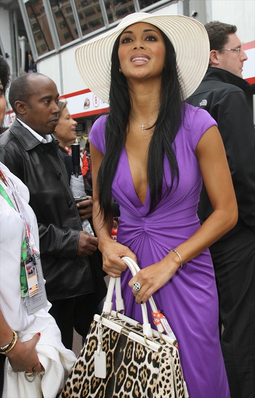 nicole scherzinger monaco grand prix 25 may 2008
