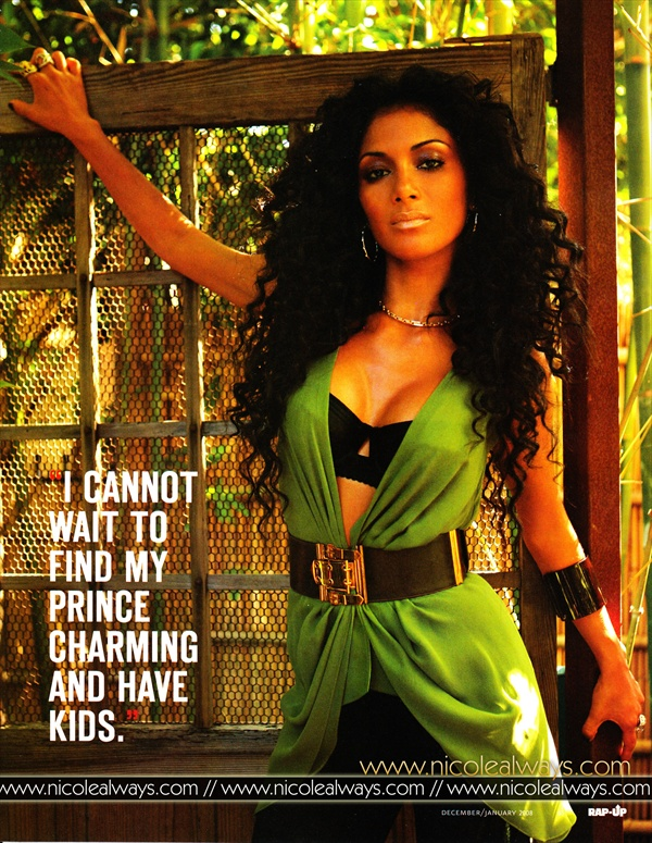 Nicole Scherzinger - Rap-Up Magazine Dec07/Jan08
