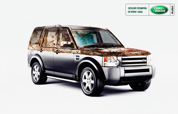 Land Rover Dirty