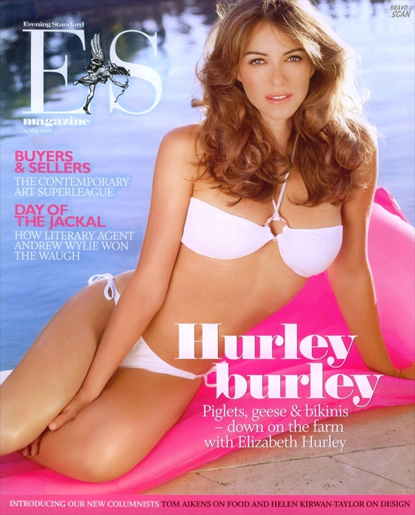 Elizabeth Hurley Evening Standard May 2008
