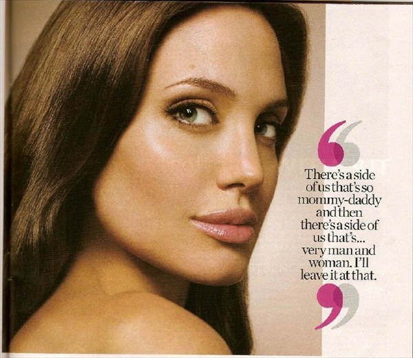 Angelina Jolie Entertainment Weekly (EW) 2008 June