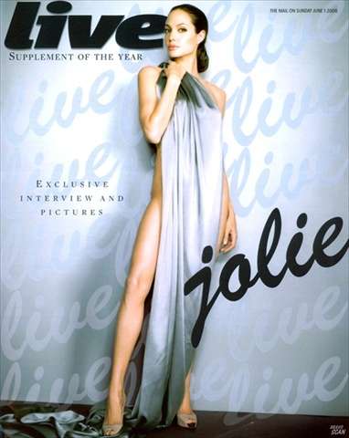 Angelina Jolie - Live Magazine June 2008 cover