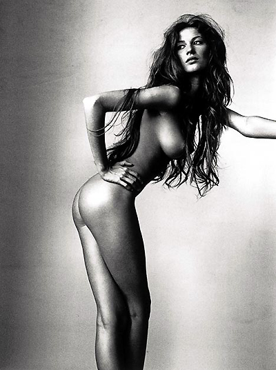 Gisele Bundchen nude photo by Michel Comte 1999