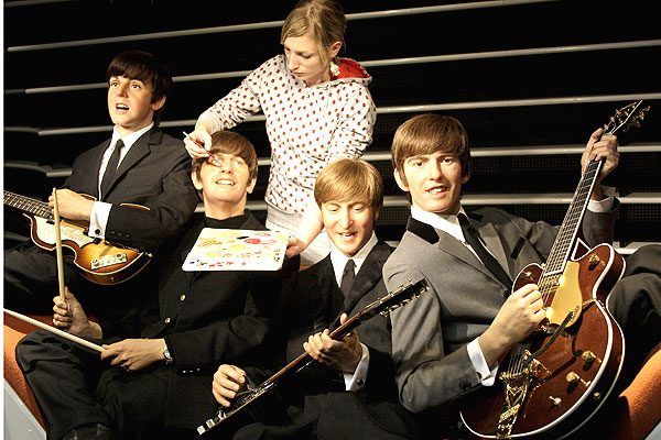 Beatles wax figure at Berlin Madame Tussauds