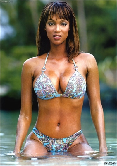 Tyra Banks Number 2 in Best Boobs of Hollywood 2008