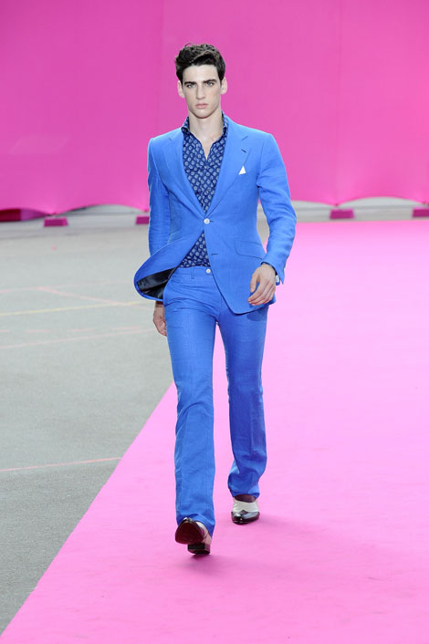 Franck Boclet men's fashion show in Paris