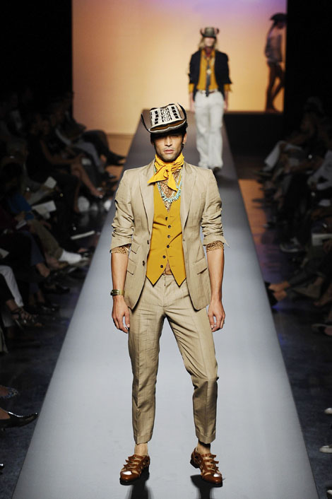 Jean-Paul Gaultier collection - Paris Men's Fashion Week