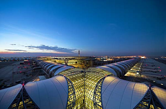 bangkok international airport, thailand