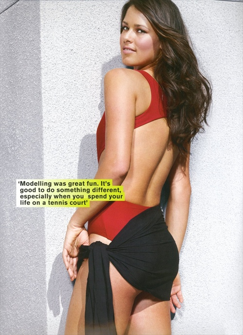 Ana Ivanovic FHM photoshoot