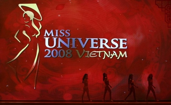 Miss Universe 2008 Vietnam, preliminary show swimwear contest, Nha Trang