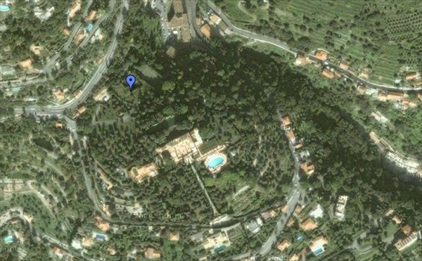 Villa La Leopolda google earth