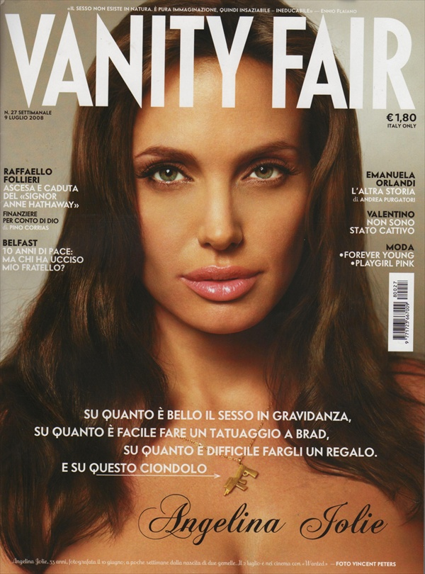 Angelina Jolie Vanity Fair Italy July 2008