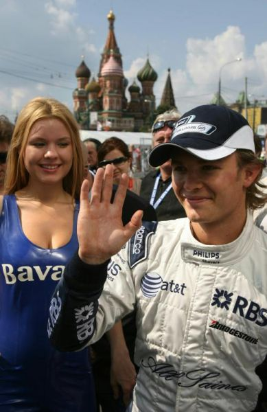 Nico Rosberg, Williams in Moscow