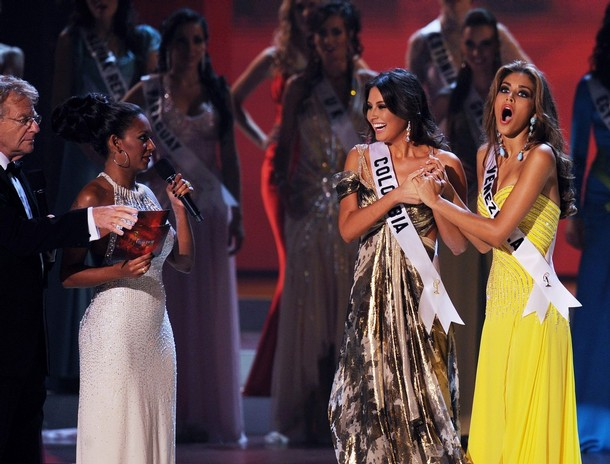 Dayana Mendoz of Venezuela crowned Miss Universe 2008
