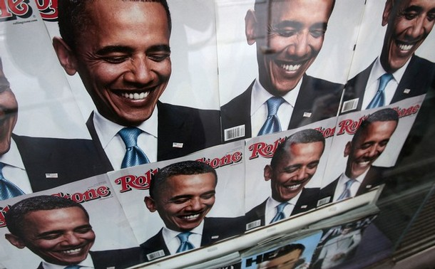 Barack Obama - Rolling Stone August 2008 cover