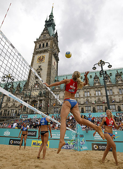European Beach Volleyball Championships in Hamburg