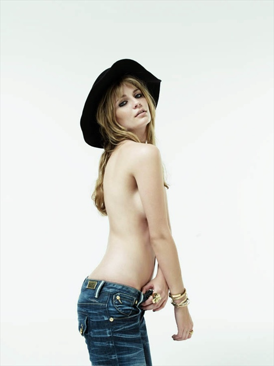 Topless Mischa Barton - Nylon Mag Photoshoot