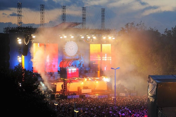 David Guetta Paul Van Dyk Moby Westbam - Love Parade in Germany Dortmund