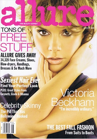 Victoria Beckham - Allure Magazine August 2008 cover