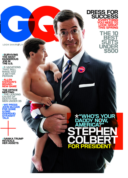 Stephen Colbert - GQ Magazine cover