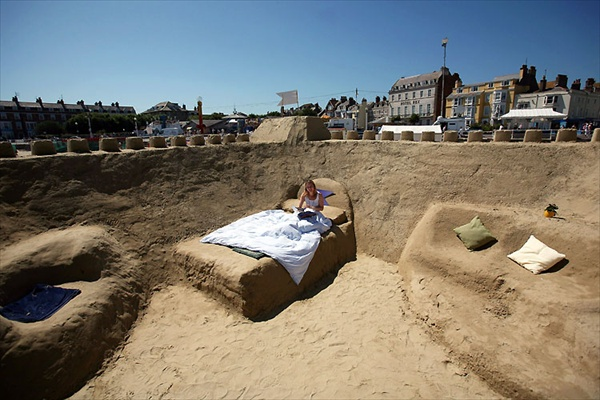 Sand hotel, Weymouth, United Kingdom