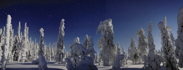 Frozen Horizon Landscapes from Oulu Province
