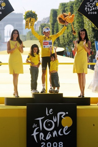 Carlos Sastre is the winner of Tour de France 2008