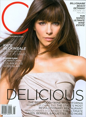 Kate Beckinsale - Delicious Kate - California Style Magazine August 2008