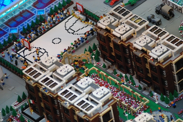 Lego Sport City for 2008 Beijing Olympic