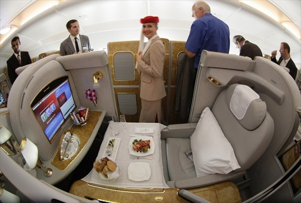 First Class Airbus A380