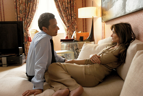 Carla Bruni & Nicolas Sarkozy - Vanity Fair September 2008