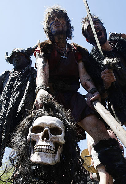 viking festival, catoira, spain