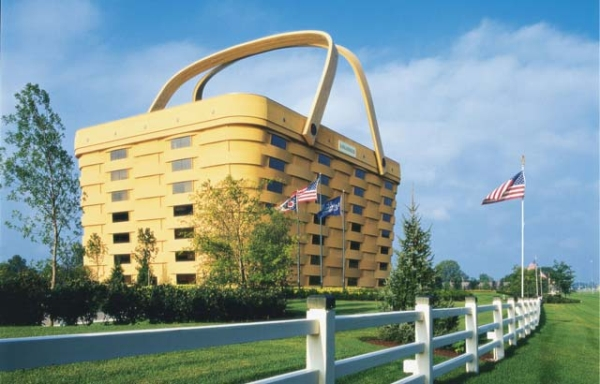 Дом-корзина (The Longaberger Company/The Basket Building)