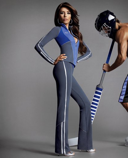 Bebe Sport Winter collection Eva Longoria
