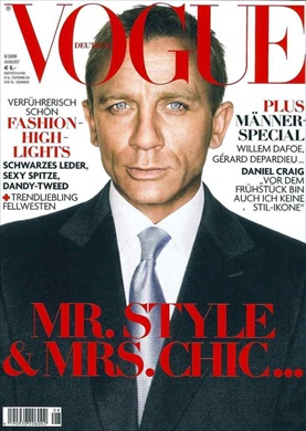 Daniel Craig in Vogue Germany August 2008