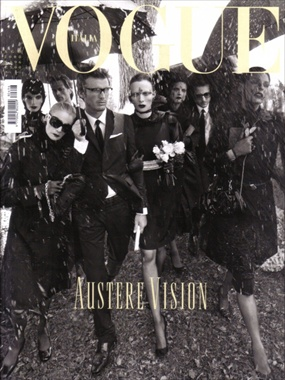 Tribute to Yves Saint-Laurent by Steven Meisel