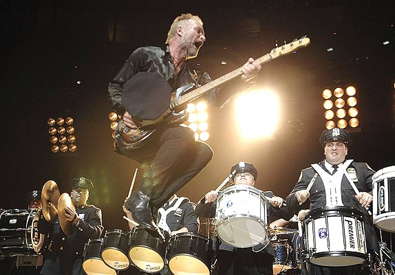 the police farewell concert