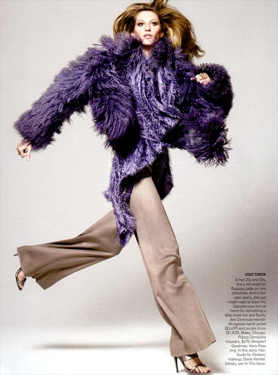 Fashion editorial by David Sims