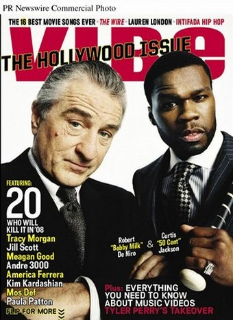 Robert De Niro and 50 Cent starring in movie Righteous Kill