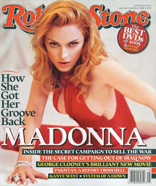 Madonna by Steven Klein for Rolling Stone - How Madonna Hot her Groove Back