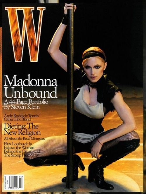 Madonna, editorial Madonna Unbound, photo by Steven Klein, W Magazine 2002