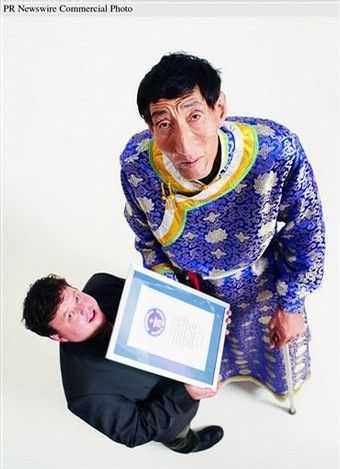 Bao Xishun, the world's tallest man, Guinness World Records