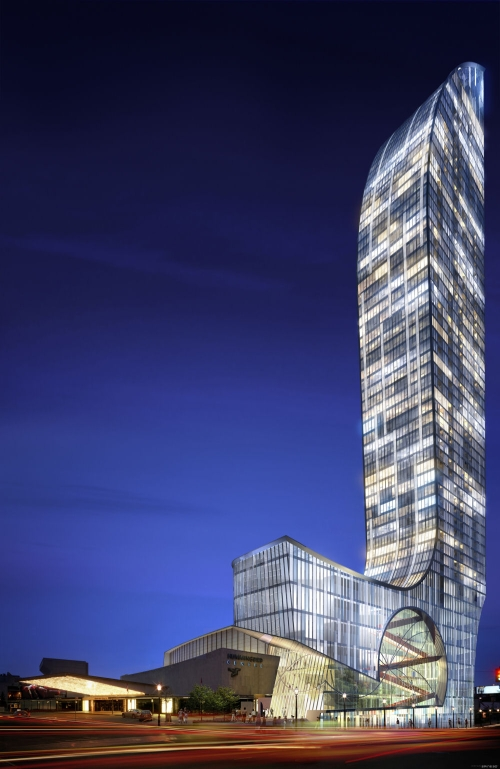 L-tower by studio daniel liebeskind