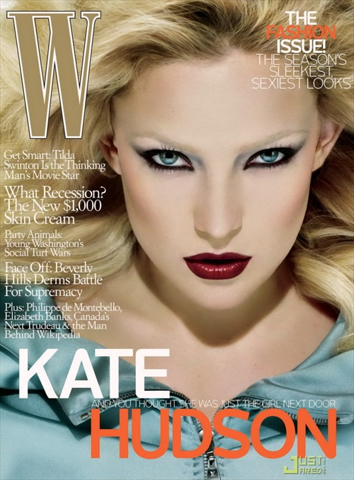 Kate Hudson - W Magazine September 2008 cover by Mert & Marcus