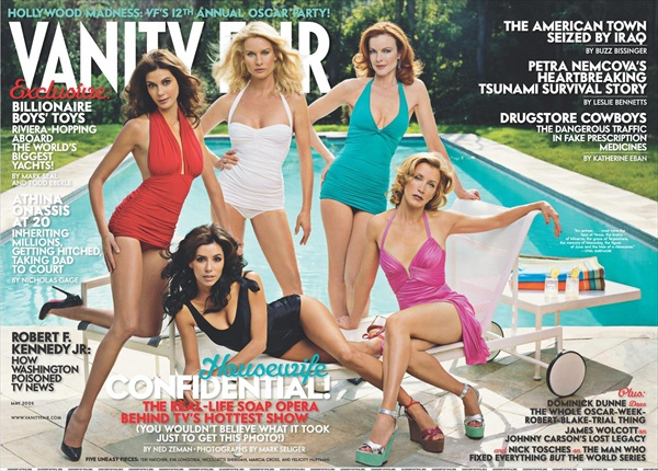 Desperate Housewives on the cover of Vanity Fair May 2005