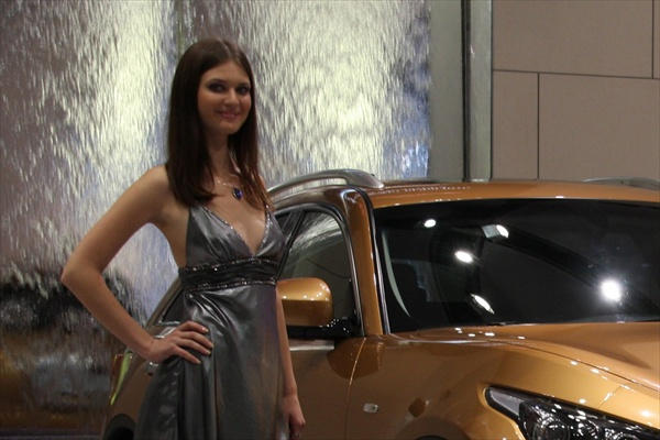 Moscow Motor Show Girls