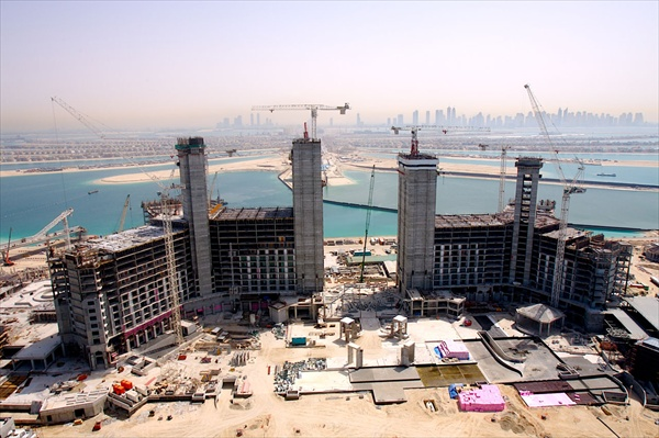 dubai hotel atlantis construction